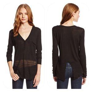 RVCA Eyes Locked Sweater in Black
